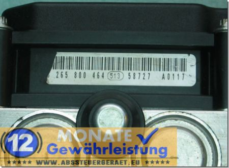 Bloc ABS 27534AG070 0-265-231-688 Bosch 0265800464 Subaru Outback