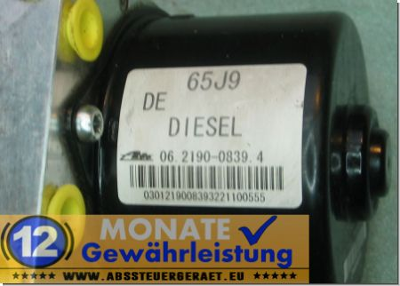 ABS Pump 06.2109-5155.3 062190-08394 65J9 Suzuki Grand Vitara