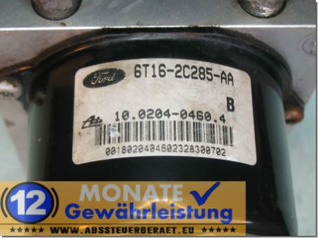 Modulo ABS 6T162C285AA 10.0204-0460.4 Ate 100925-01283 Ford Transit Connect