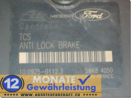 ABS Block 2M512C285BC 10.0204-0379.4 Ate 10092501123 Ford Focus