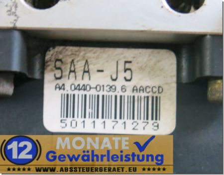 ABS Block SAA-J5 A4044001396 Honda Jazz