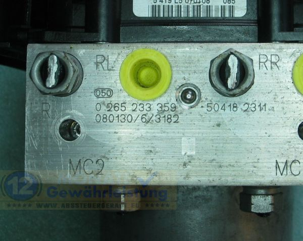 ABS Block 504182311 0-265-233-359 Bosch 0265900342 Iveco Daily