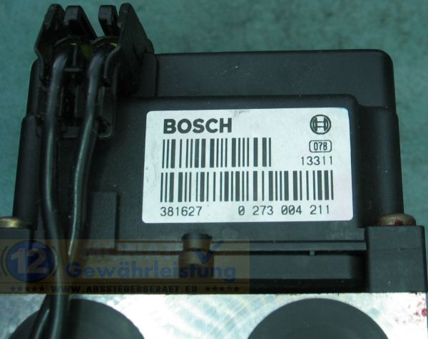 Bloc ABS Calculateur 7D0-614-111-B 0273004211 Bosch 0-265-220-432 VW T4