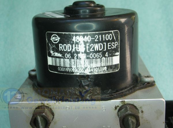 Bloc ABS 4894021100 06.2102-0065.4 Ate 06210902223 SsangYong Rodius