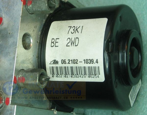 Bloc ABS 73K1-BE-2WD 062102-10394 06210952323 285700-24013 Suzuki Swift