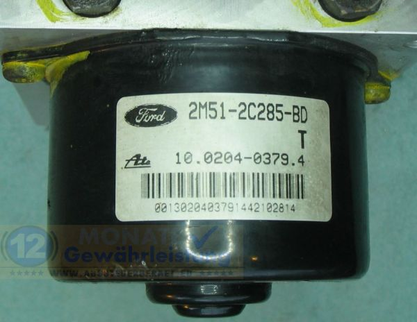 Bloc ABS 2M51-2C285-BD 10020403794 Ate 10.0925-0117.3 Ford Focus