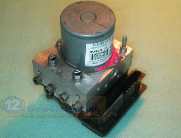 ABS Pump 51767116 0265234352 Bosch 0-265-950-483 Fiat Stilo