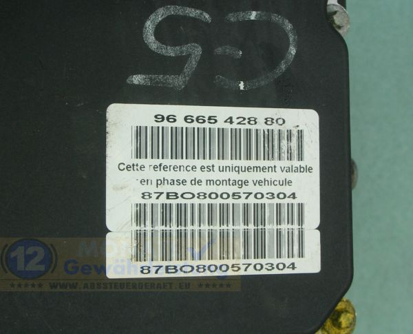 ABS Pump 0265230757 Bosch 0-265-951-393 9666542880 Citroen C5